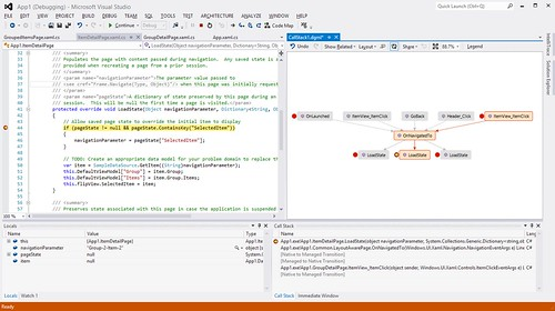 code map debugger integration