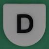 Link Letters letter D