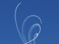 Weekend air show photo by Home Land & Sea
