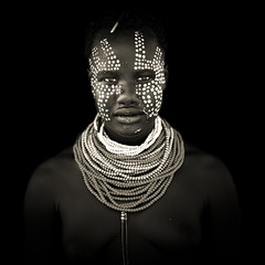 Karo woman - Ethiopia photo by Steven Goethals