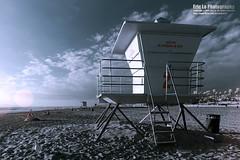 infrared beach photo by Eric 5D Mark III
