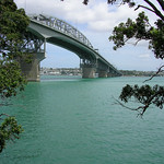 Auckland Harbour Bridge from Northcote Point