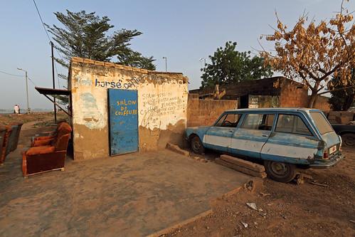 Salon de coiffure - Ouagadougou