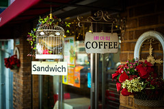 Coffee and a Mouldy Sandwich photo by stuckinseoul
