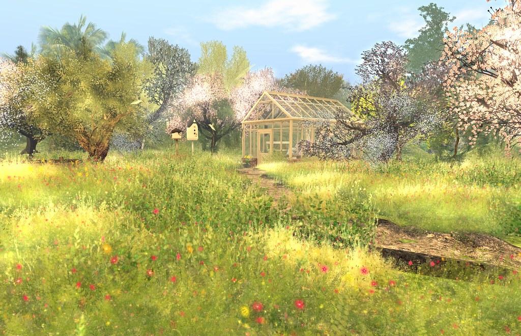 Springtime home