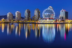 Vancouver's Science World photo by clarsonx