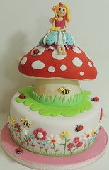 Toadstool fairy photo by Shereen's Cakes & Bakes