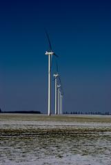 Windmills in Lukaszow/Zagrodno photo by Superlama.pl