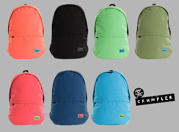Crumpler Proud Stash backpack comes in various colors