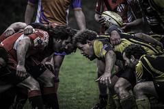 Rugby ASPTT Lannion Melee photo by Broogland - Nicolas Guédon