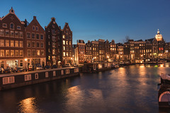 Amsterdam after sunset photo by Pahas (Thank you for over 1000000 views!)