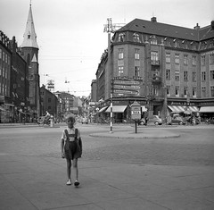 Me in Aarhus, Denmark. Aug. 1955 photo by iEagle2