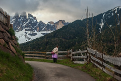 Looking Into the Valley (Santa Maddalena, Italy) photo by james_clear