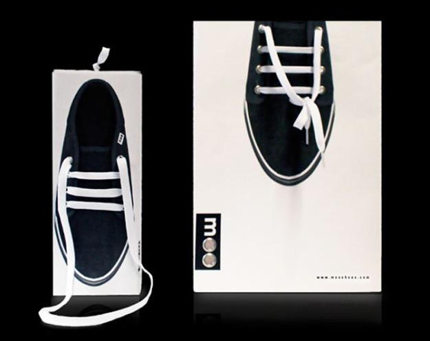 一系列超有梗的鞋盒包装设计