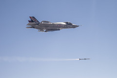 First F-35 In-Flight Missile Launch photo by Lockheed Martin