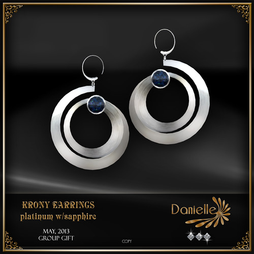 DANIELLE Group Gift May_2013 Krony Earrings