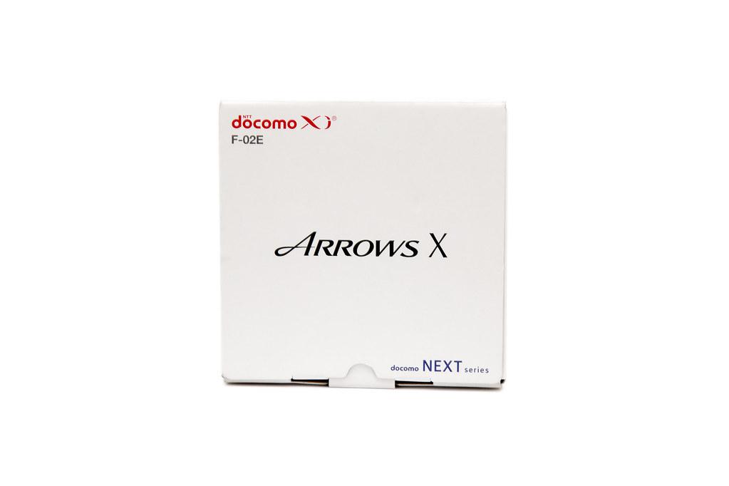 罕見日機 ARROWS X F-02E (1) 開箱 @3C 達人廖阿輝
