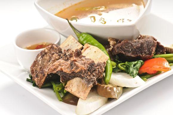 C2 Classic Cuisine roasted Crispy Ribs Sinigang