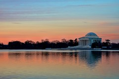 Dawn Over the Tidal Basin photo by Karon