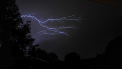 Lightning Bolt in Pittsburgh PA on 5-21-2013 photo by pgh_shutter