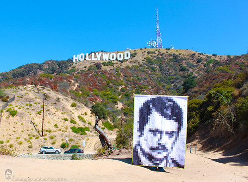 Ron Swanson quilt along - Hollywood Hills photo by Happy Zombie