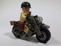 Indian 841 US Motorbike WW2 photo by Project Azazel