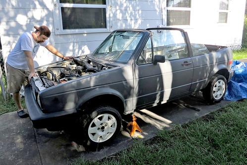 Blake's VW Cabriolet