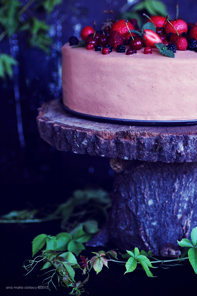 Cherry Berry Mousse Cake 2