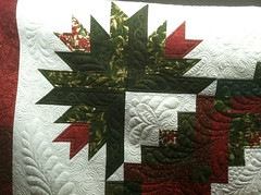 Christmas Cactus Wreath photo by Jessica's Quilting Studio