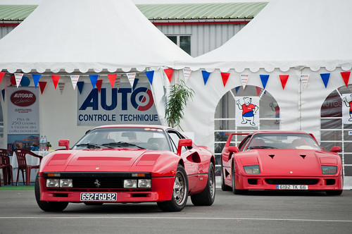 Ferrari 288 GTO & F40 [Explored] photo by BenjiAuto (Ratet B. Photographie)