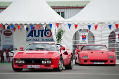 Ferrari 288 GTO & F40 [Explored] photo by BenjiAuto (Ratet B. Photographie)