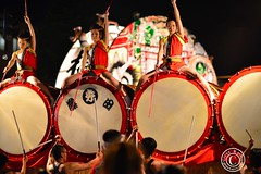 Neputa Festival. Drums and beautiful ladies. © Glenn E Waters. Over 3,000 visits to this photo. photo by Glenn Waters ぐれんin Japan.