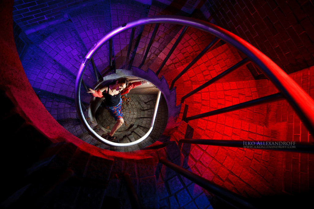 Colorful Spiral photo by Ilko Allexandroff / イルコ・光の魔術師