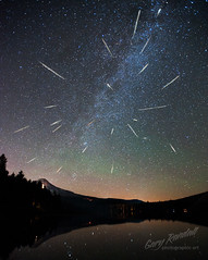 Perseid Meteor Shower 2012 photo by Gary Randall