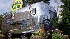 Airstream food cart in Talkeetna