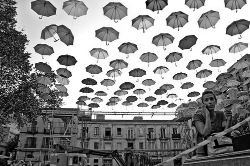 Umbrellas photo by stylebcn images