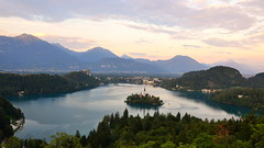 Bled, view from Ojstrica photo by Silva Predalič