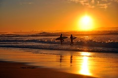 Surfers Sunrise photo by missgeok