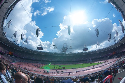 The Olympic Stadium, London