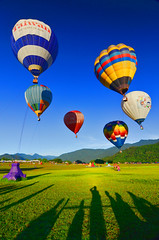 鹿野熱氣球嘉年華 Hot air balloon festival photo by David-Shih