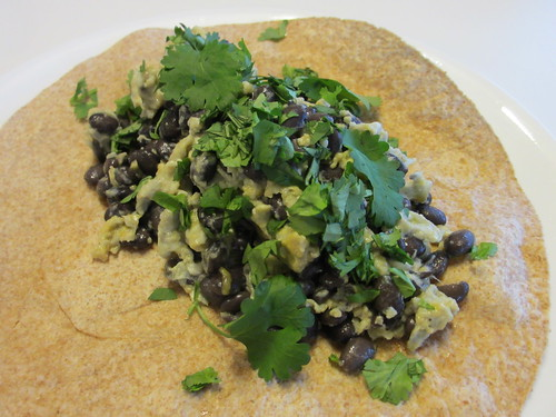 Black Bean and Egg Tacos