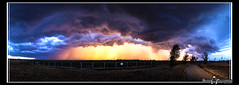 Stormy Sunset_Panorama photo by gmp1993