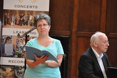 Avison Ensemble: Benjamin Zander music interpretation workshops, Day 4, Thursday 16 August 2012, King's Hall, Newcastle University photo by Avison Ensemble