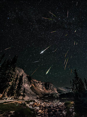 Snowy Range Perseids Meteor Shower photo by David Kingham