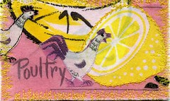 Fabric recipe card