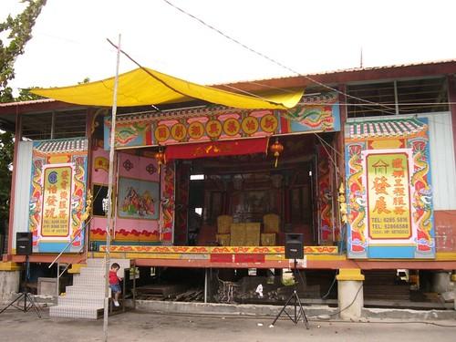 wayang stage