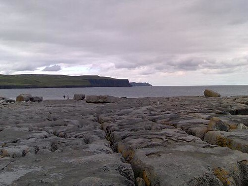 Looking Towards the Cliffs of Moher