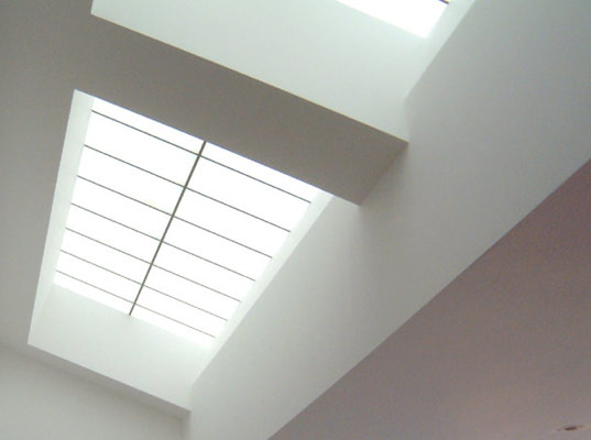 daylighting, daylight, natural light, skylight, kalwall, nanogel, daylighting panels