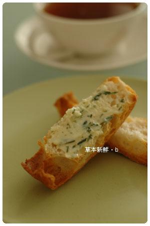 香草奶油+拖鞋麵包