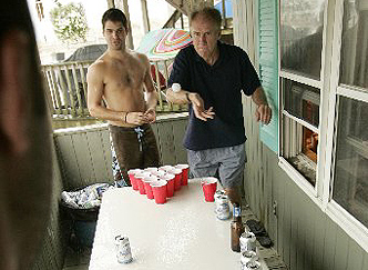 Paul Mulshine Beer Pong